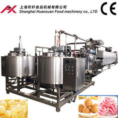 380V Toffee Candy Making Machine , Soft Toffee Production Line PLC Control